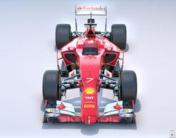 Ferrari SF15-T PBR F1 Formula 3D Model