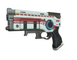 Sci Fi Gun 03 3D asset