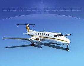 3D Beechcraft B1900C V08