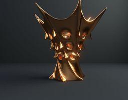 Vase of king of Mars 3D model