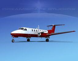 Beechcraft 1900C V17 3D model