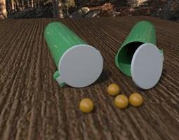 3D Paintball Pod