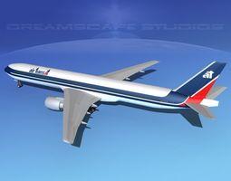 Boeing 777-300 Air Transat 3D