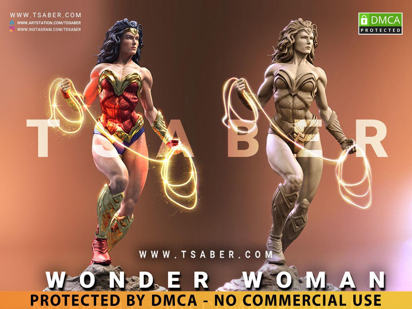 Wonder Woman Statue - DC Comics Collectibles