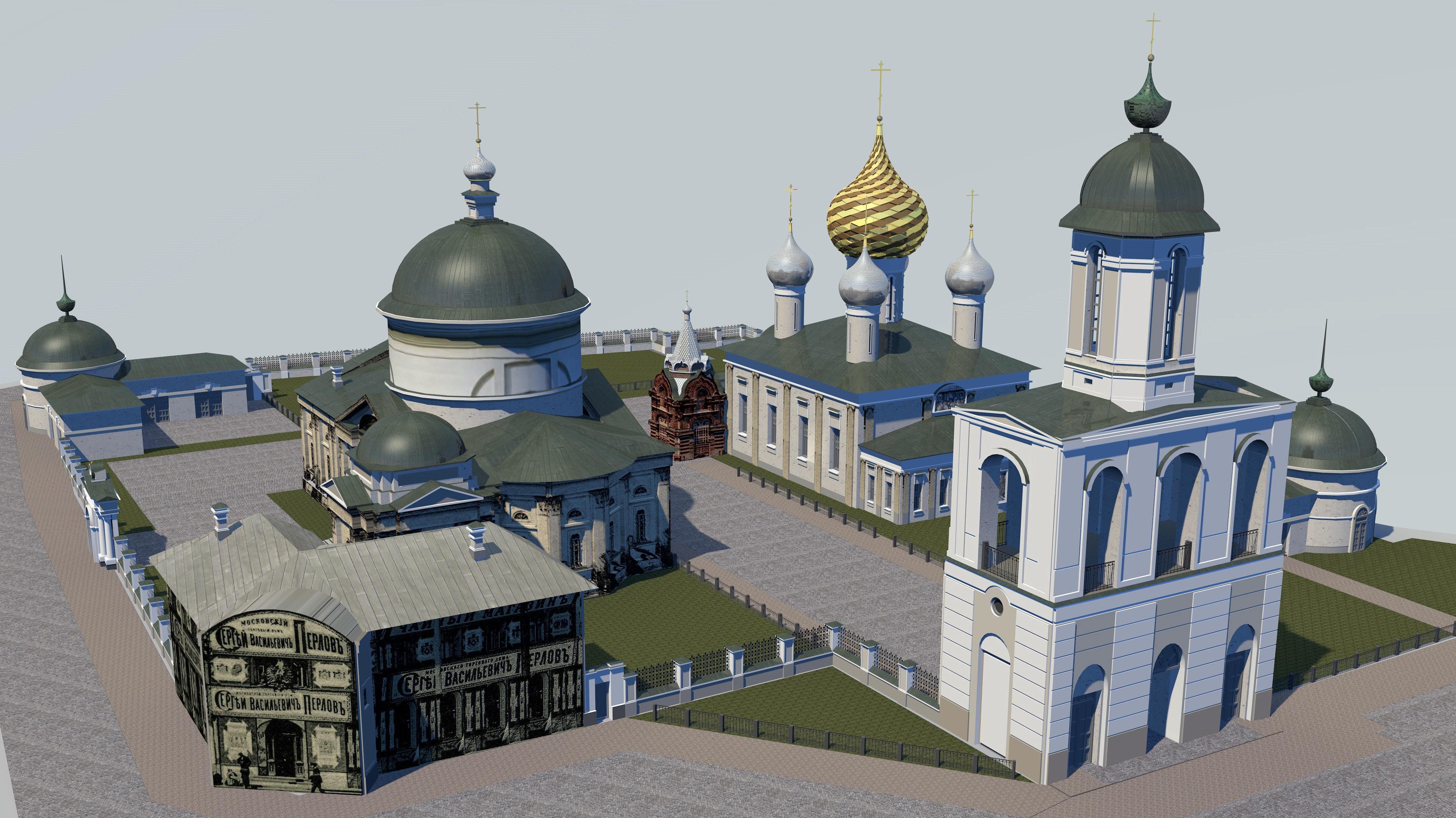 Temples of the Vlasyevsky parish