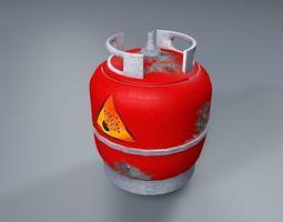 3D model realtime Gas Tank