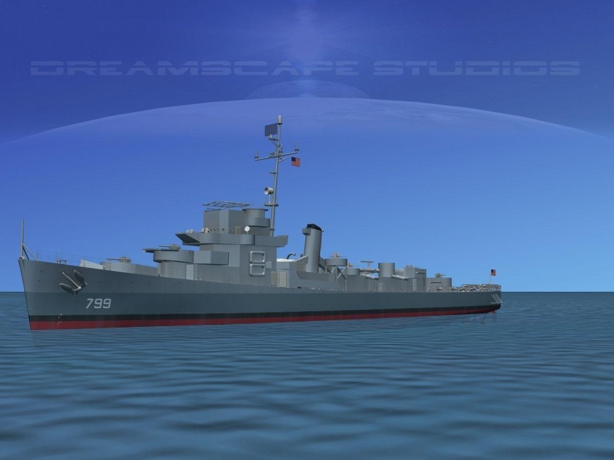 Destroyer Escort DE-799 USS Scoggins