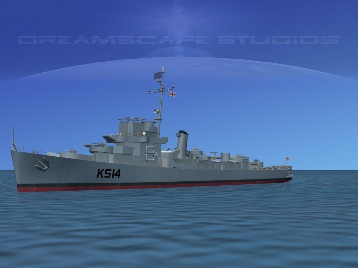 UK Captains Class Frigate HMAV Lawford