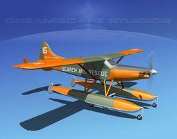 DeHavilland DHC-2 Turbo Beaver V11 3D