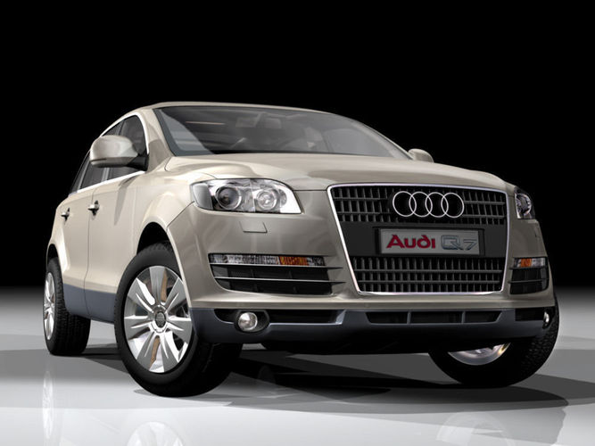 Audi Q German Suv D Model Max Obj Ds