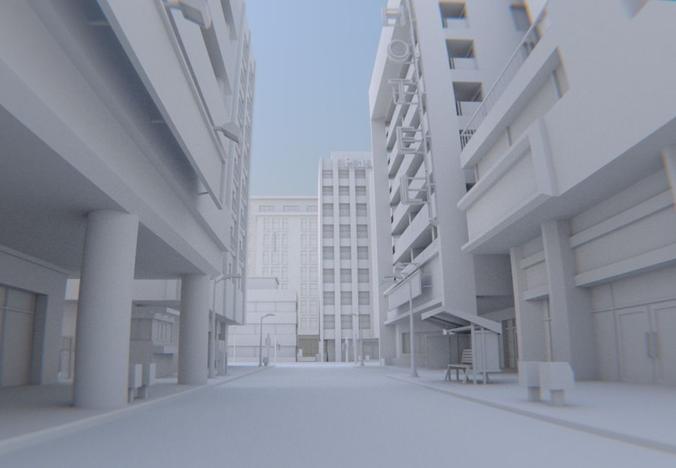 Exterior: The Street Scene 3D