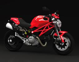 2010 - Ducati Monster 696 3D