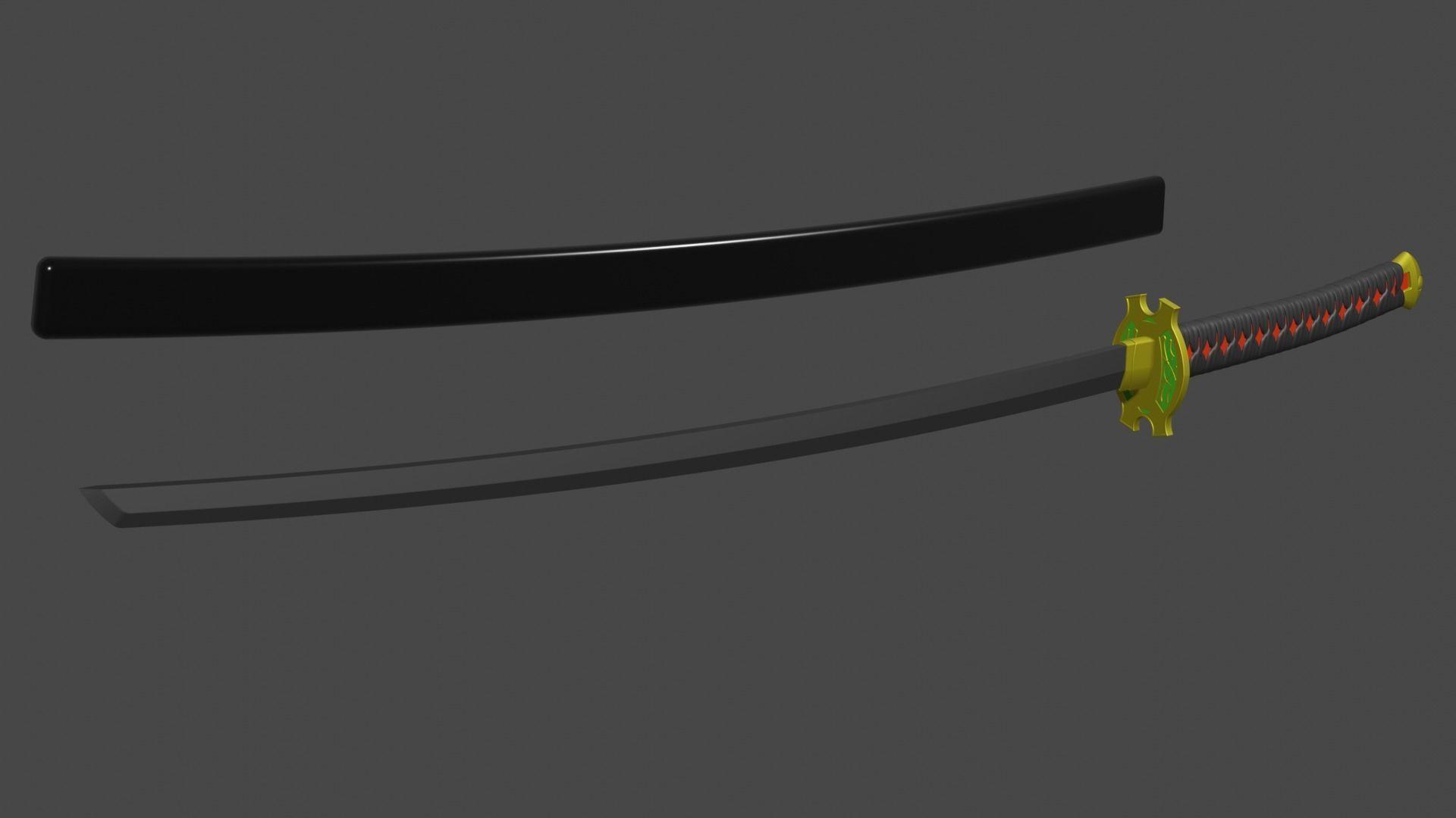 erza scarlet samurai sword katana cosplay
