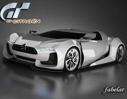 3D model Citroen GT