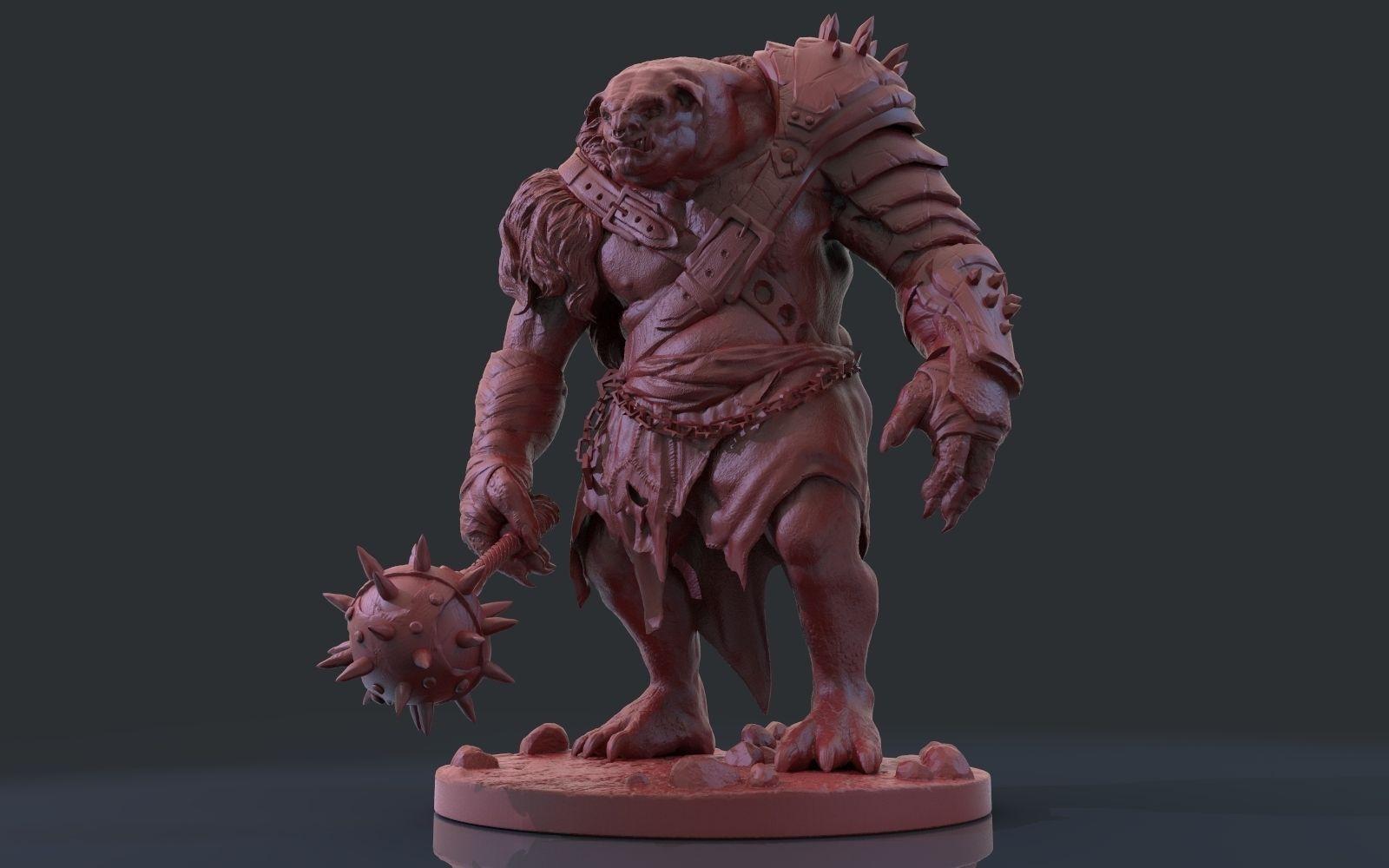 Zbrush Troll