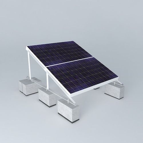 Rooftop solar panel 3d model greentops cgtrader for Exterior 3ds max model