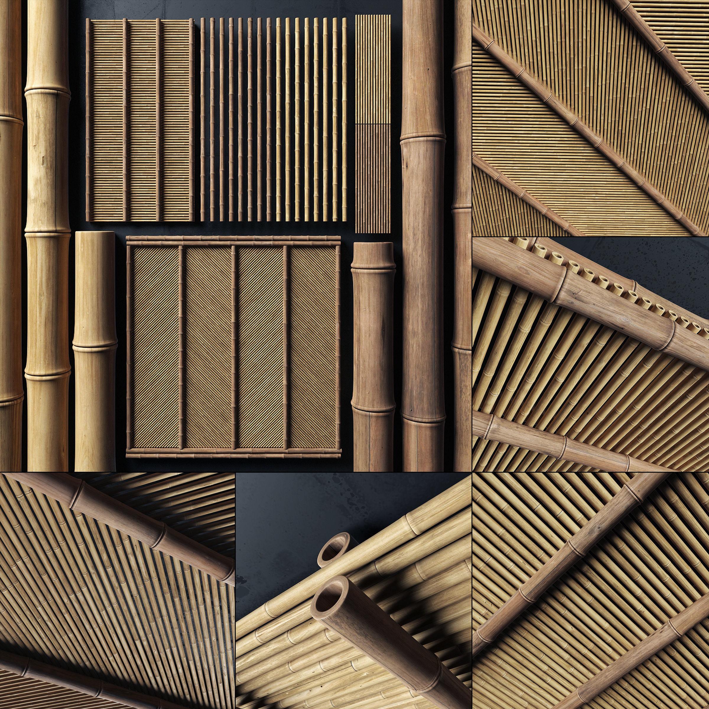 Ceiling bamboo angle n1