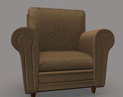 3d sofa chair