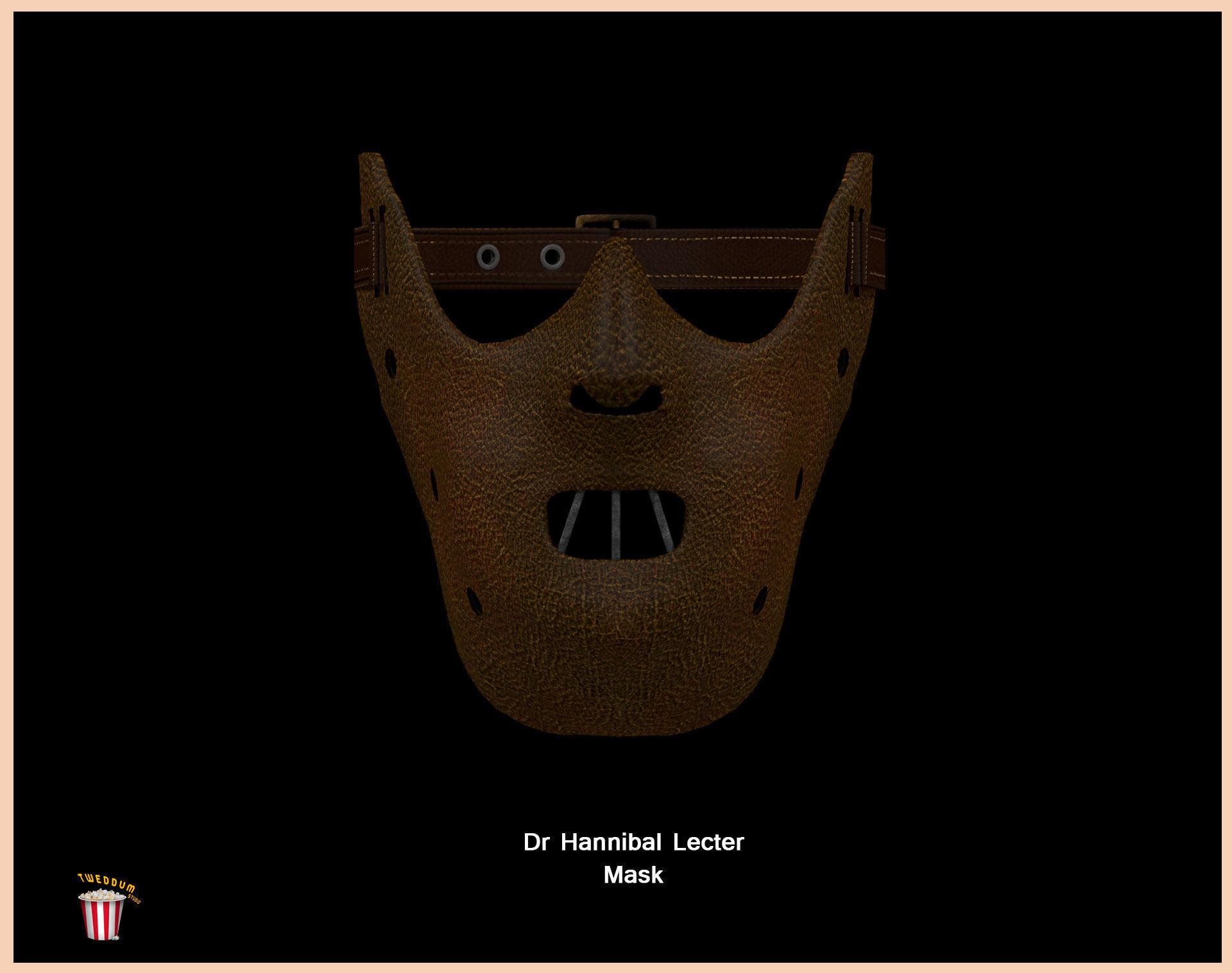 Dr Hannibal Lecter Mask - Anthony Hopkins - High Quality