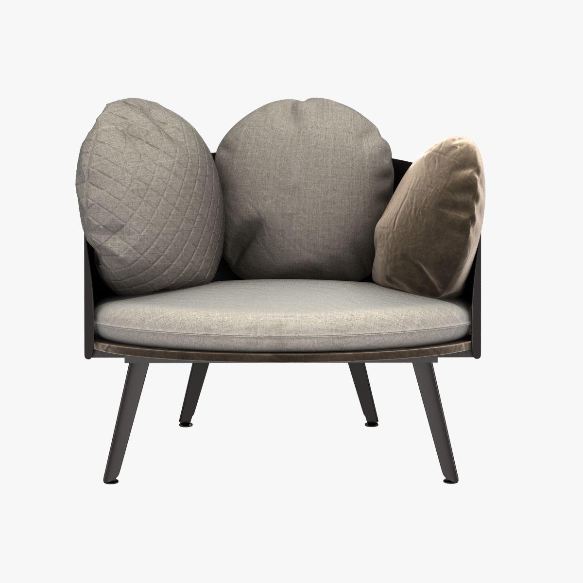 ... Nubilo Chair By Petite Furniture 3d Model Max Obj 3ds Fbx Mtl 6 ...