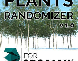 3d model plants randomizer  v 1 0