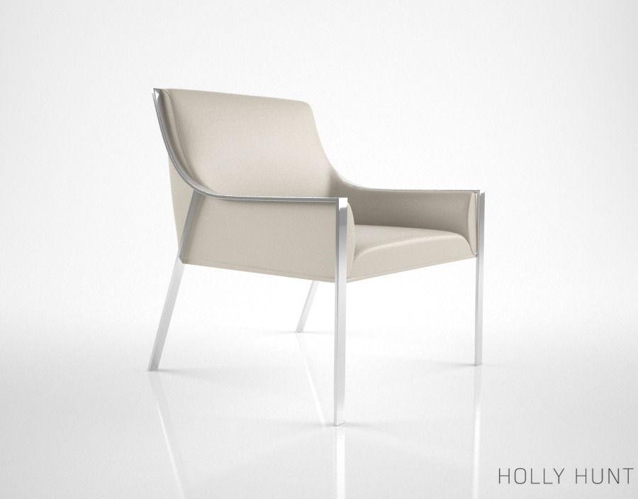 Gentil ... Holly Hunt Aileron Lounge Chair 3d Model Max Obj Fbx Mtl 3 ...
