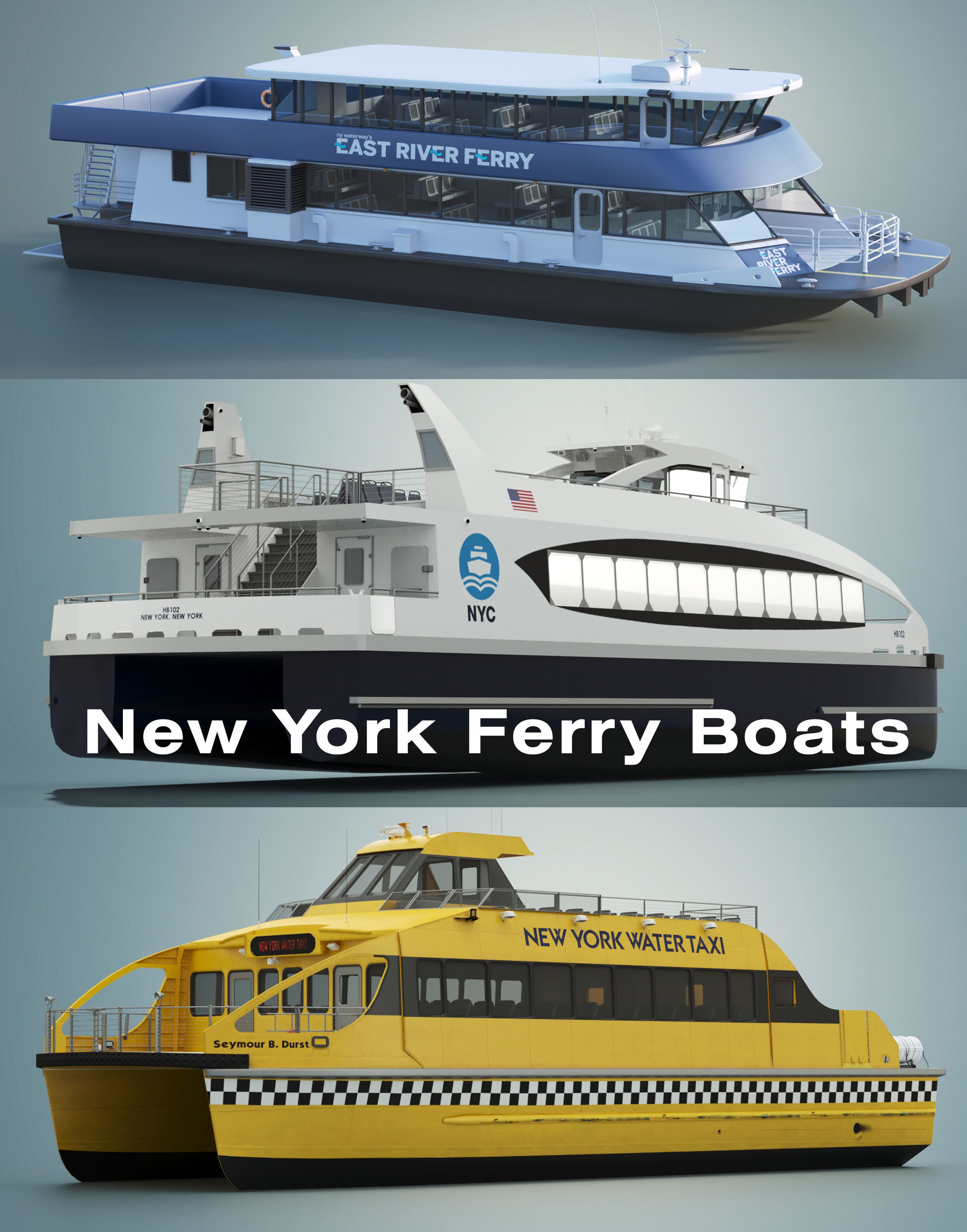 New York Ferry Boats
