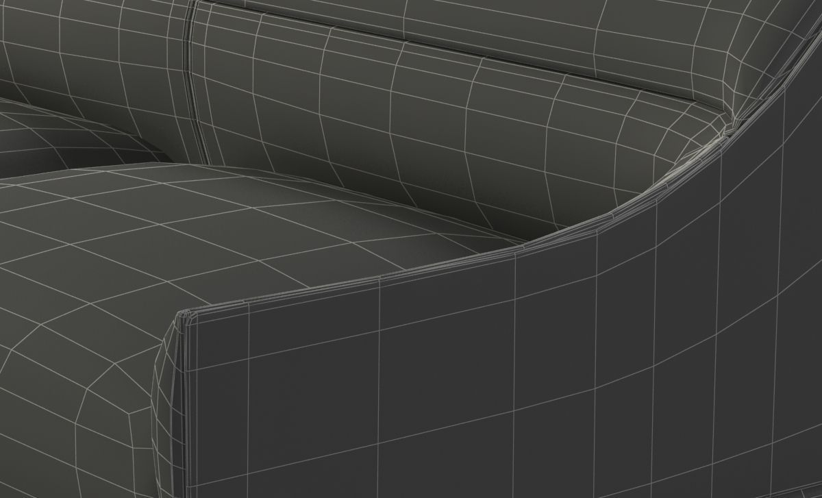 Curve Sofa By Enne 3d Cgtrader