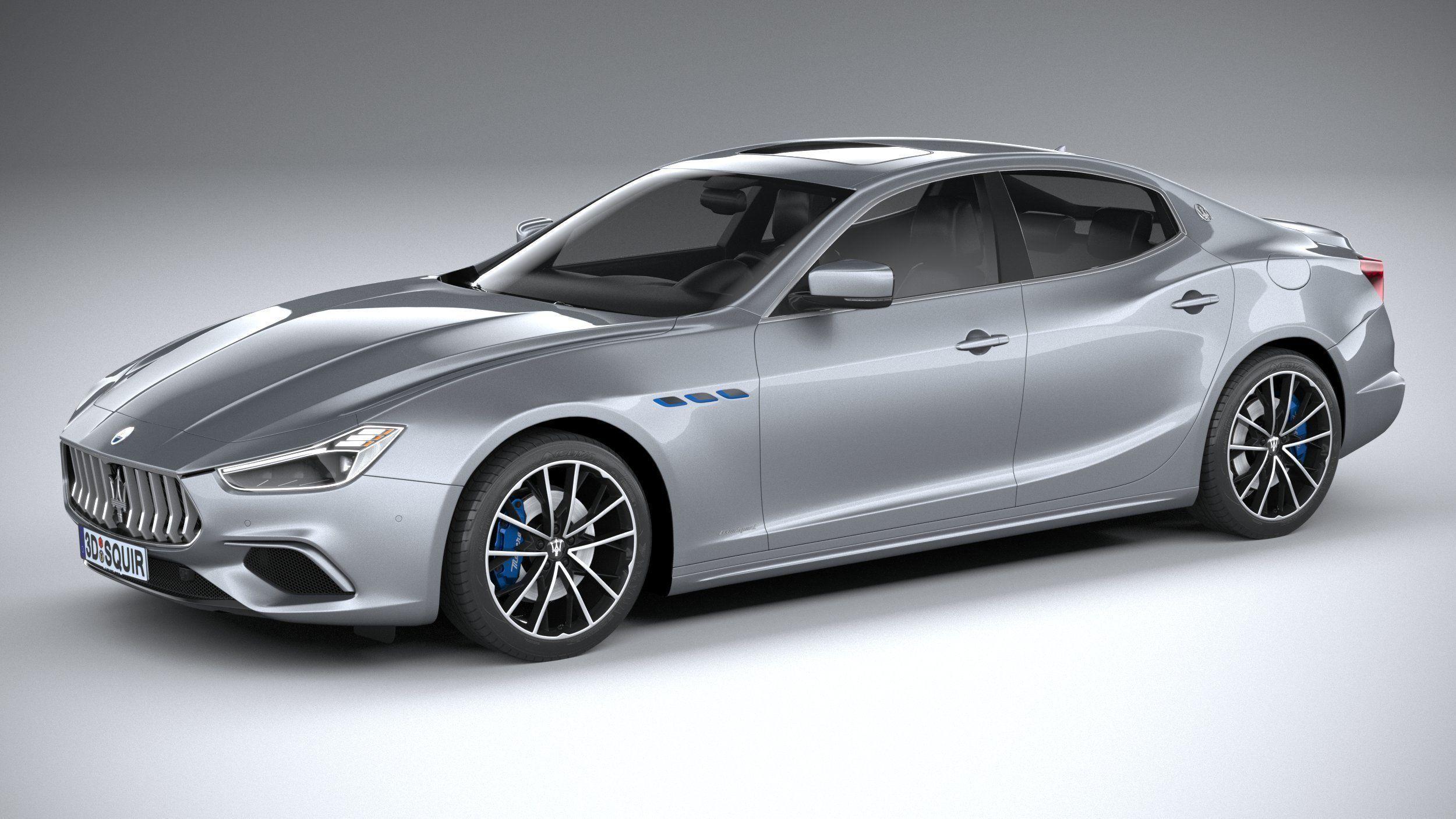 Maserati Ghibli Hybrid 2021 3D | CGTrader