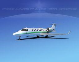 3D model LearJet 45 V08