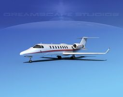 LearJet 45 V10 3D model