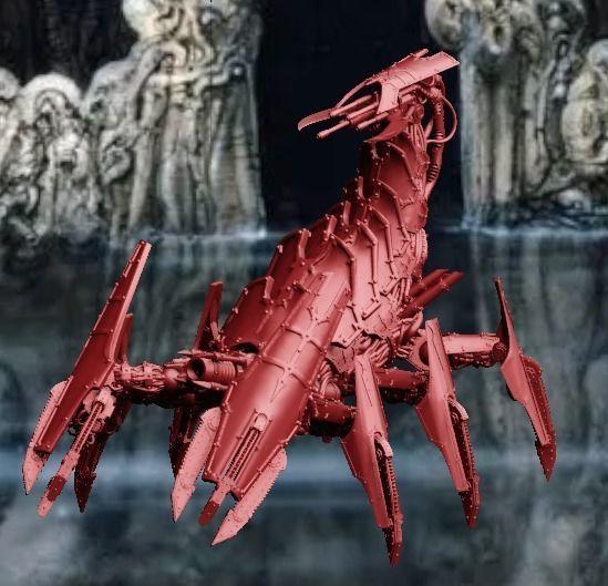 Scorponok the Corney Robot