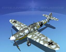 Messerschmitt BF-109 V11 3D model