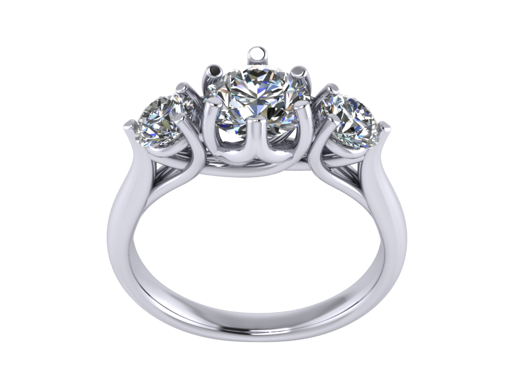 Ring Solitaire 3 Stones 3d Model 3d Printable Stl. Two Band Engagement Rings. Headstone Wedding Rings. Push Present Wedding Rings. Beige Rings. Non Traditional Wedding Rings. James Avery Rings. Simple Matching Wedding Rings. Cushion Shape Engagement Wedding Rings