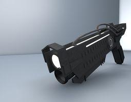 Futuristic Gun 3D model VR / AR ready
