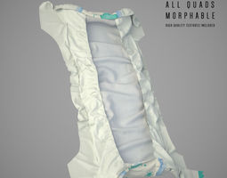 3D model low-poly Diapers