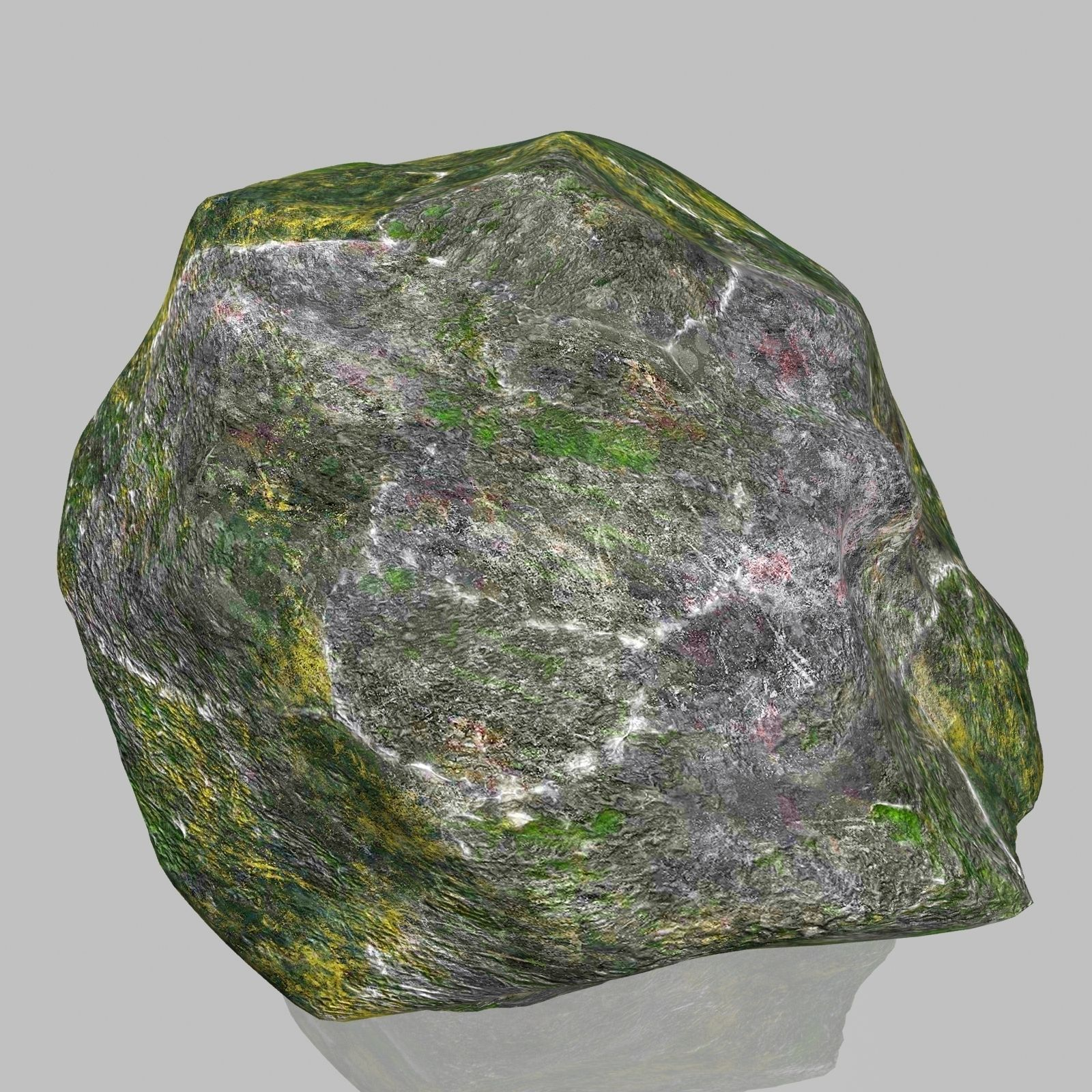 3D model Rock Stone 2 VR / AR / low-poly MAX OBJ 3DS FBX ... on Granite Models  id=81644
