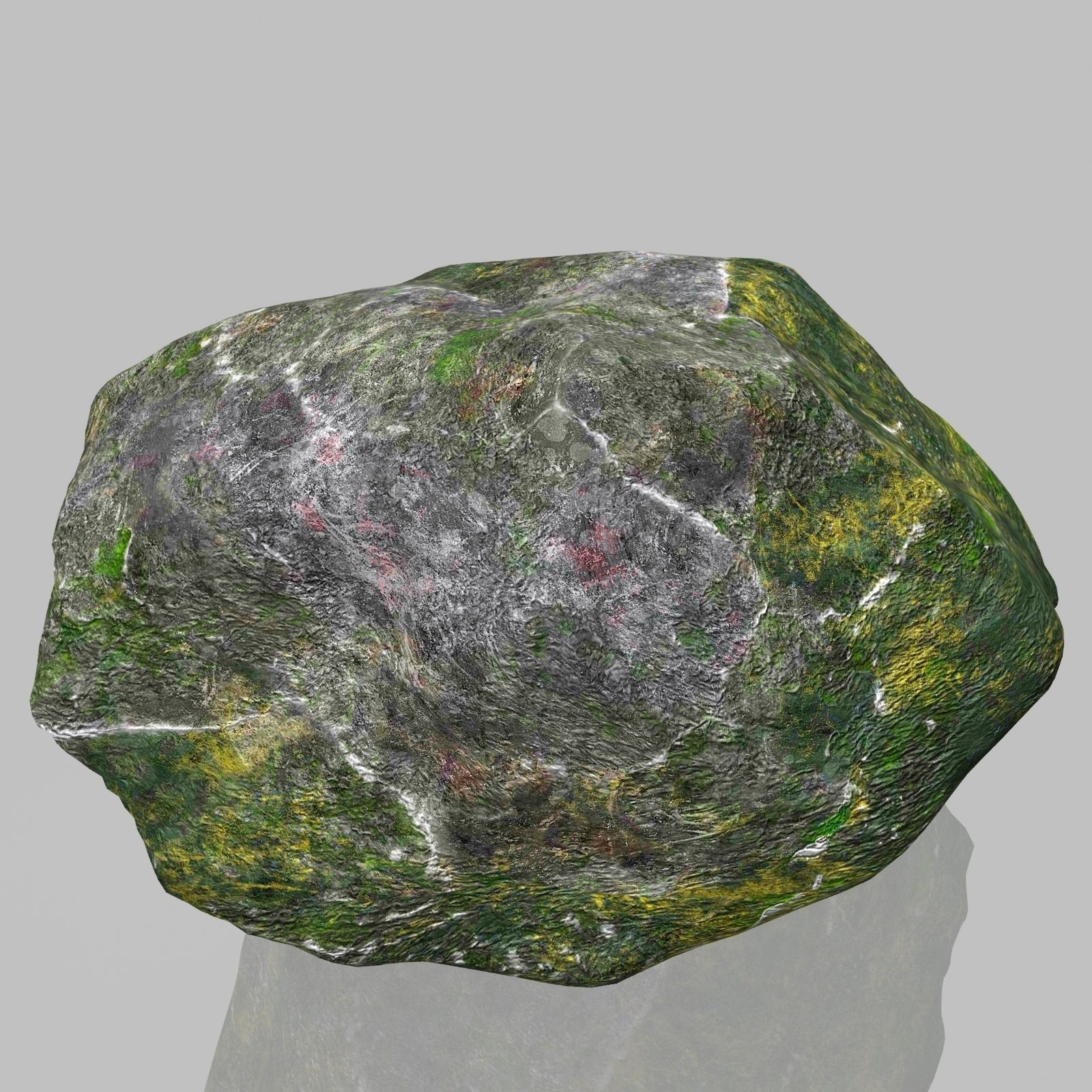 3D model Rock Stone 2 VR / AR / low-poly MAX OBJ 3DS FBX ... on Granite Models  id=73724
