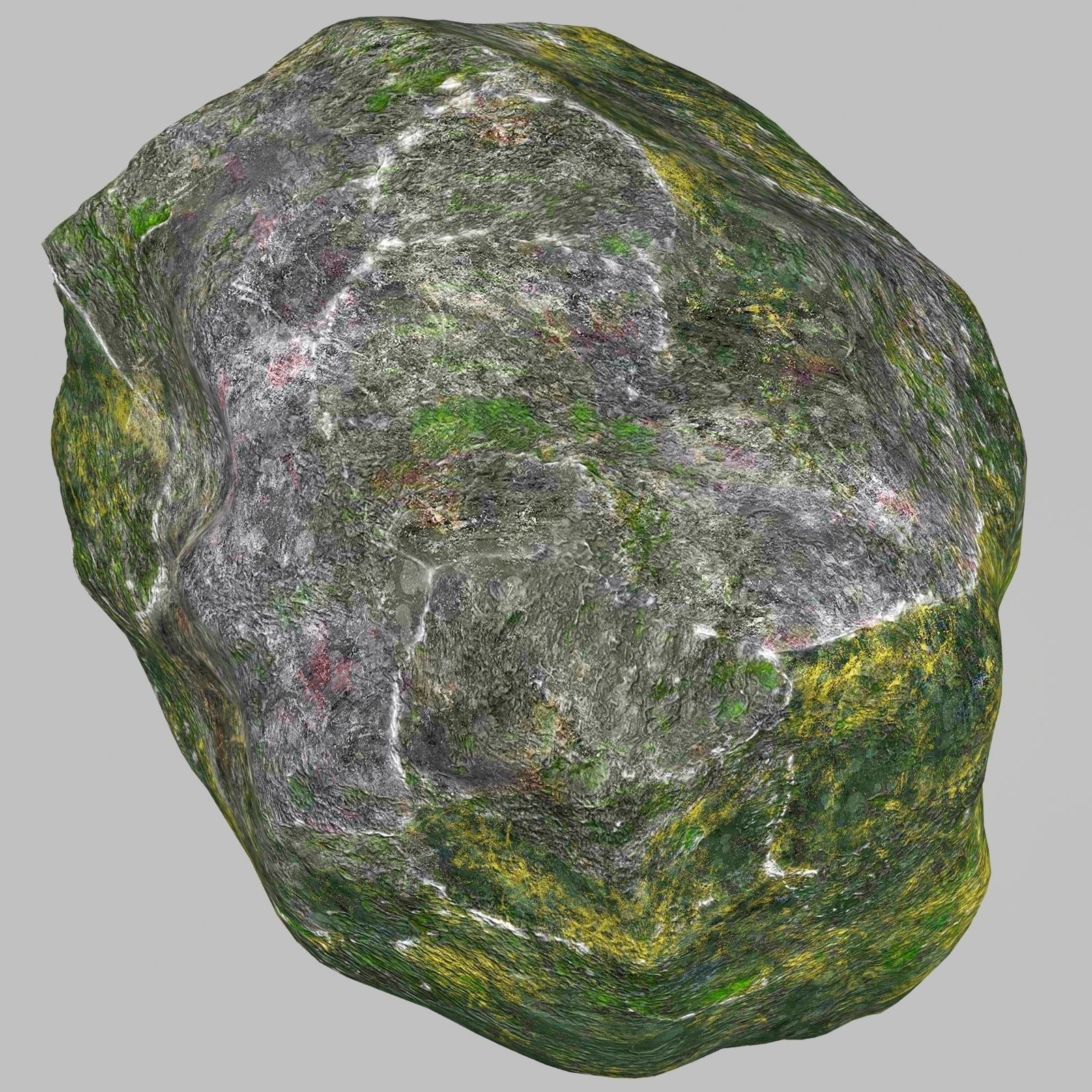 3D model Rock Stone 2 VR / AR / low-poly MAX OBJ 3DS FBX ... on Granite Models  id=37139