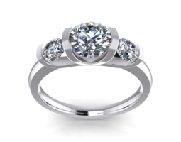 Jewelry Triology Classic Ring Solitaire CD 3D Model