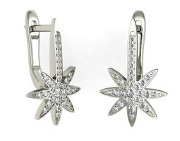 3d printable model earrings star