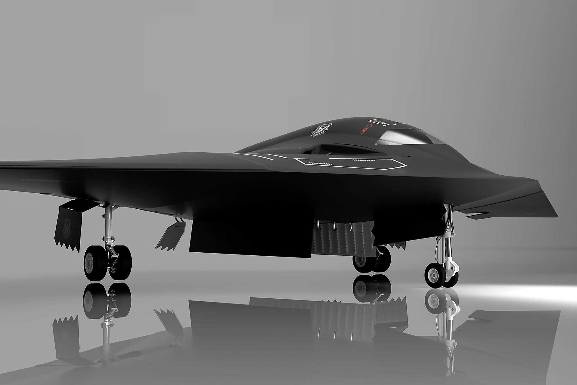 B-21 Raider LRS-B Next Generation Stealth Bomber