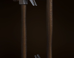 Hammer PBR GameReady LowPoly 3D asset
