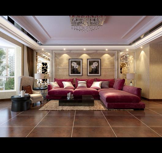 cozy living room 3d model max 1