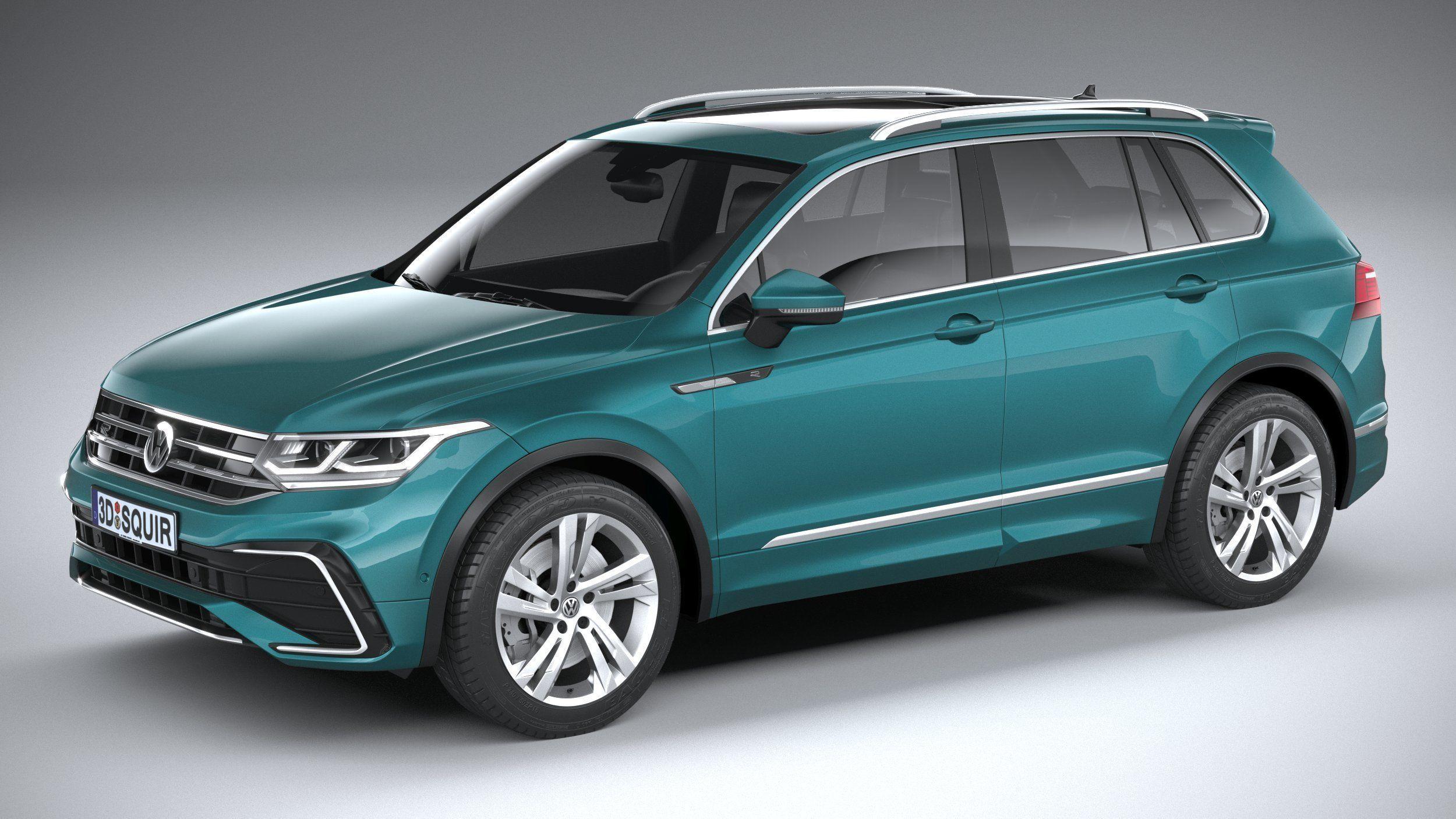 3D model Volkswagen Tiguan R-Line 2021 | CGTrader