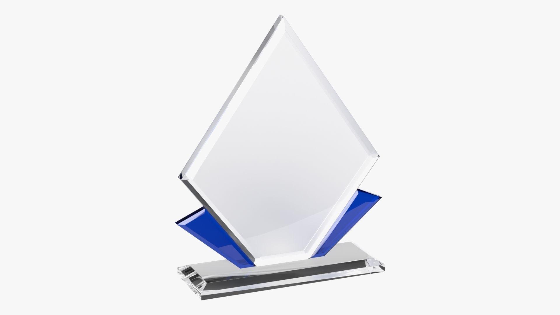 Glass trophy 01
