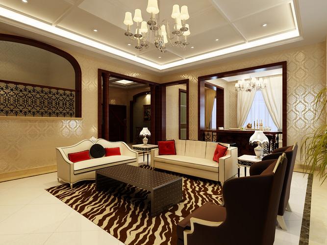 3d delightful living room cgtrader for Living models