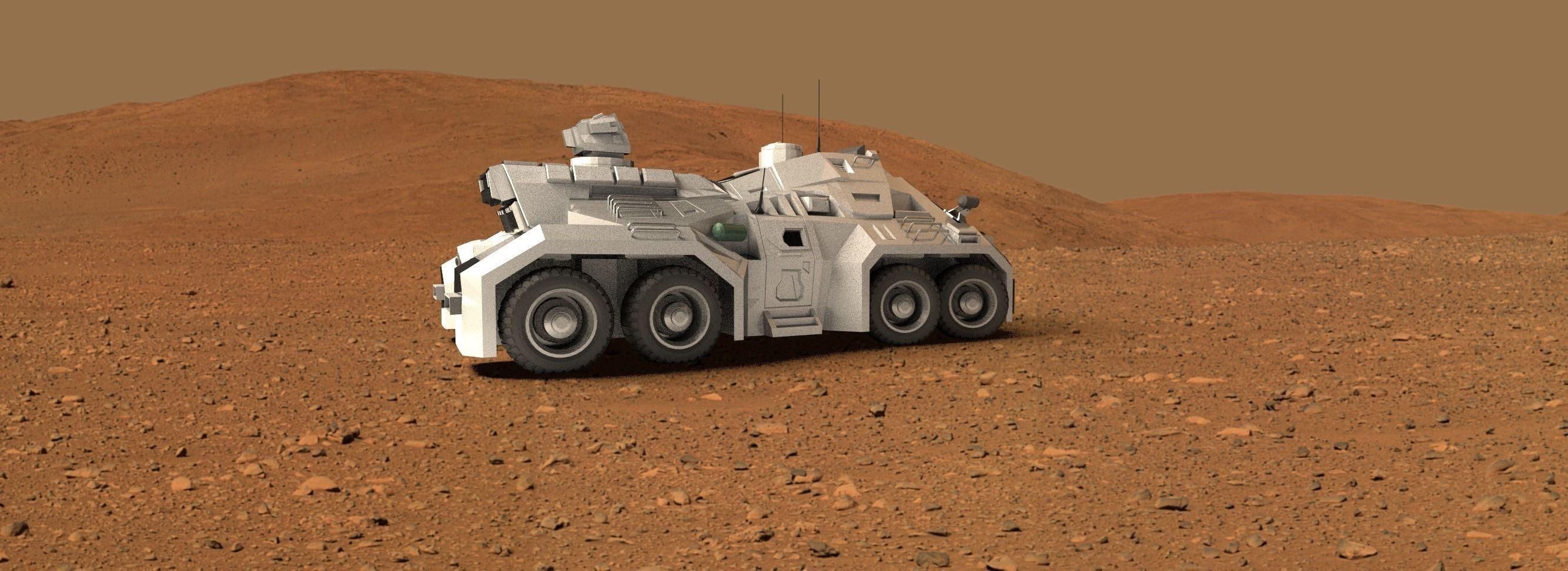 The Martian S Mars Rover In Baraka Mall Amman Jordan