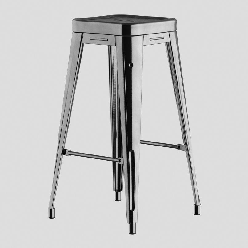 Wondrous Xavier Pauchard Bar Stool 3D Model Machost Co Dining Chair Design Ideas Machostcouk