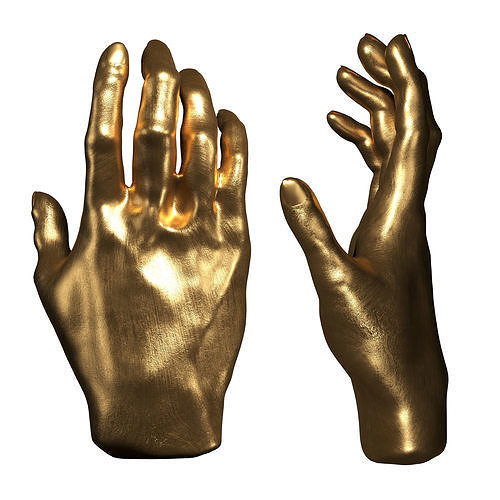 Kare Deco Object Mano Gold